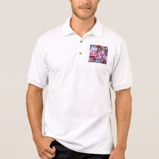 Cherry Blossom Pink Style Polo Shirt