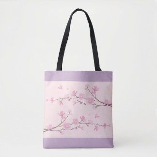 Cherry Blossom - Pink Tote Bag