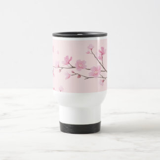 Cherry Blossom - Pink Travel Mug