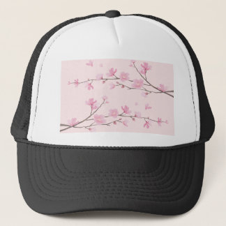 Cherry Blossom - Pink Trucker Hat