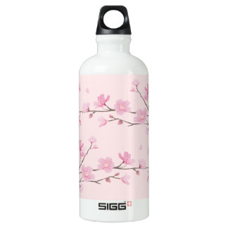 Cherry Blossom - Pink Water Bottle