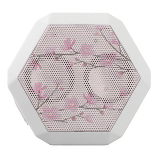 Cherry Blossom - Pink White Bluetooth Speaker