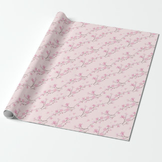 Cherry Blossom - Pink Wrapping Paper