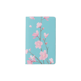 Cherry Blossom Pocket Moleskine Notebook