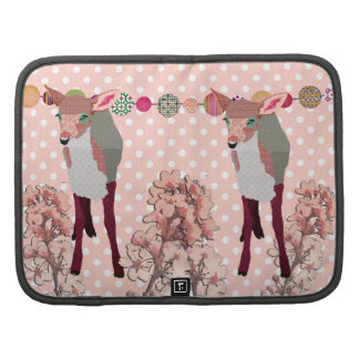 Cherry Blossom Pretty Pink Fawn Planner/  Rickshaw Organizer
