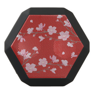 Cherry Blossom - Red Black Bluetooth Speaker