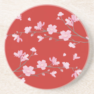Cherry Blossom - Red Coaster