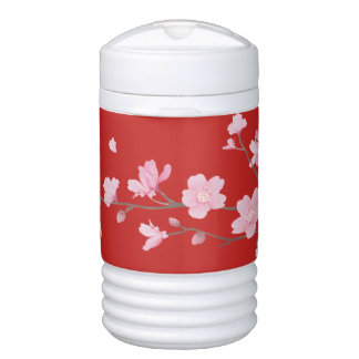 Cherry Blossom - Red Cooler