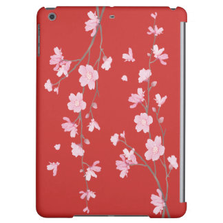 Cherry Blossom - Red Cover For iPad Air