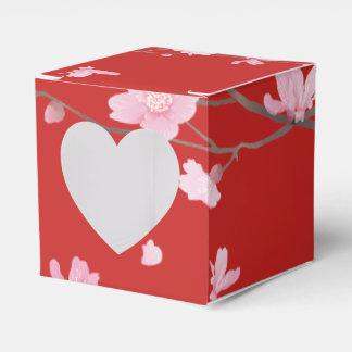 Cherry Blossom - Red Favor Box