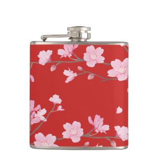 Cherry Blossom - Red Flasks