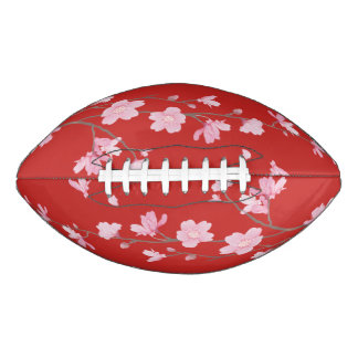 Cherry Blossom - Red Football