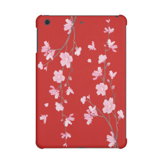 Cherry Blossom - Red iPad Mini Retina Cover