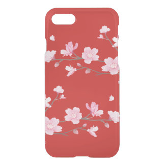Cherry Blossom - Red iPhone 8/7 Case