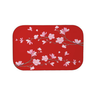 Cherry Blossom - Red Lunch Box