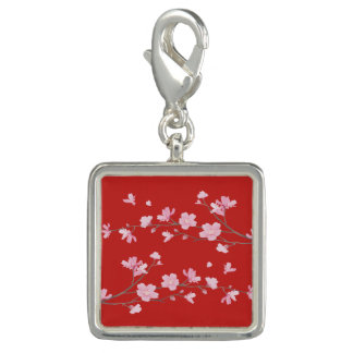 Cherry Blossom - Red Photo Charms