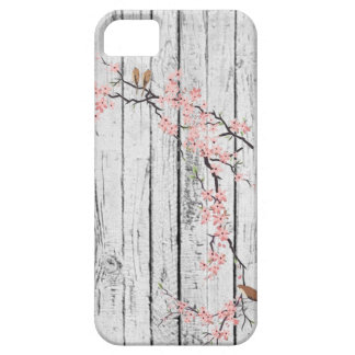 Cherry Blossom rustic white vintage iPhone 5 Cover