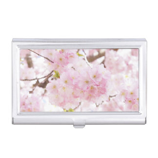 Cherry Blossom Sakura Business Card Holder