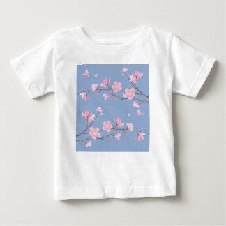 Cherry Blossom - Serenity Blue Baby T-Shirt