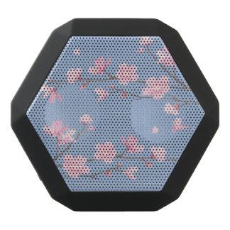 Cherry Blossom - Serenity Blue Black Bluetooth Speaker