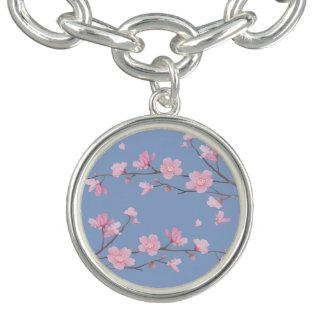 Cherry Blossom - Serenity Blue Bracelet