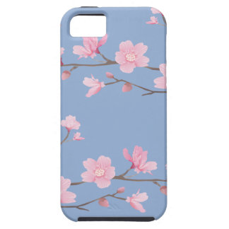 Cherry Blossom - Serenity Blue Case For The iPhone 5