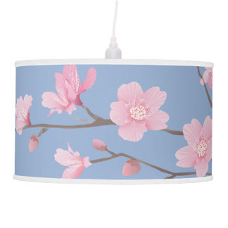 Cherry Blossom - Serenity Blue Ceiling Lamps