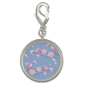 Cherry Blossom - Serenity Blue Charm