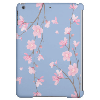 Cherry Blossom - Serenity Blue Cover For iPad Air