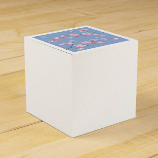 Cherry Blossom - Serenity Blue Favor Box
