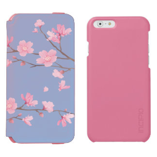 Cherry Blossom - Serenity Blue Incipio Watson™ iPhone 6 Wallet Case