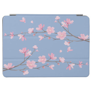 Cherry Blossom - Serenity Blue iPad Air Cover