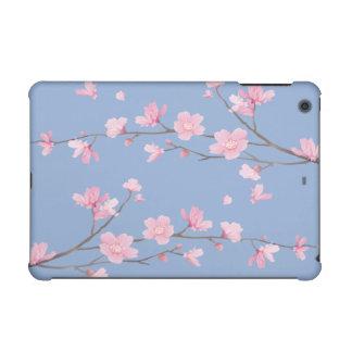 Cherry Blossom - Serenity Blue iPad Mini Retina Cover