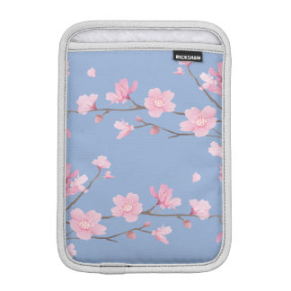 Cherry Blossom - Serenity Blue iPad Mini Sleeve