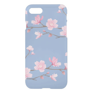 Cherry Blossom - Serenity Blue iPhone 8/7 Case