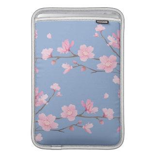 Cherry Blossom - Serenity Blue MacBook Air Sleeves