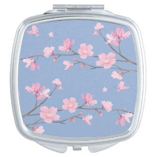 Cherry Blossom - Serenity Blue Mirrors For Makeup