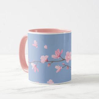 Cherry Blossom - Serenity Blue Mug