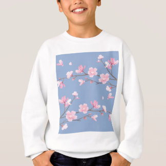 Cherry Blossom - Serenity Blue Sweatshirt