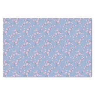 Cherry Blossom - Serenity Blue Tissue Paper