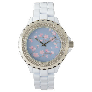 Cherry Blossom - Serenity Blue Wristwatches