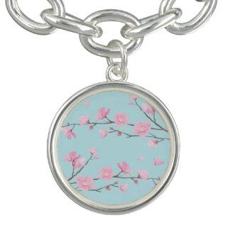 Cherry Blossom - Sky Blue Bracelets