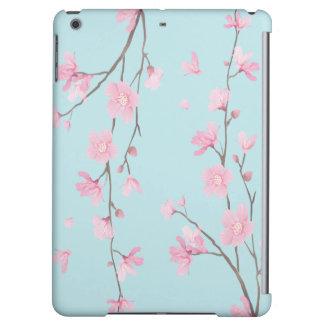 Cherry Blossom - Sky Blue Cover For iPad Air