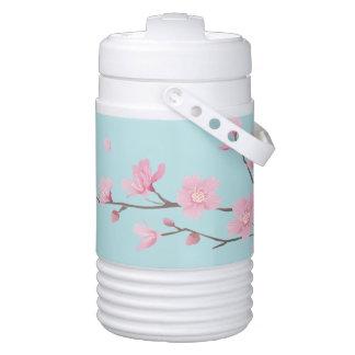 Cherry Blossom - Sky Blue Drinks Cooler