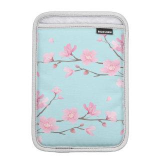 Cherry Blossom - Sky Blue iPad Mini Sleeves
