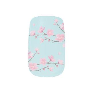 Cherry Blossom - Sky Blue Minx Nail Art