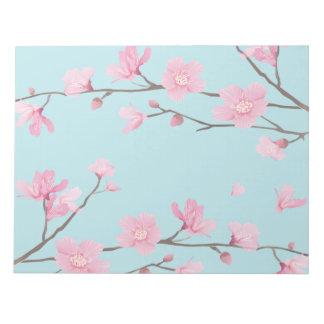 Cherry Blossom - Sky Blue Notepads