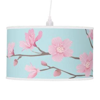 Cherry Blossom - Sky Blue Pendant Lamp