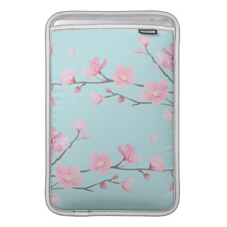 Cherry Blossom - Sky Blue Sleeve For MacBook Air