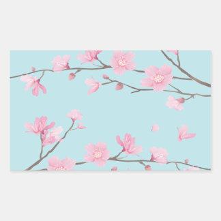Cherry Blossom - Sky Blue Sticker